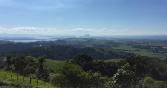 View from Papamoa Hills